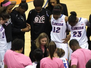 Coach Butler coaching the team to victory