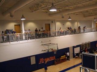 BCC members watching practice