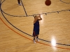 Practicing free throws