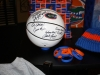 Signed basketball - raffle tickets still available!