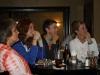 A tense moment...Bea, Heather, Tina and Megan