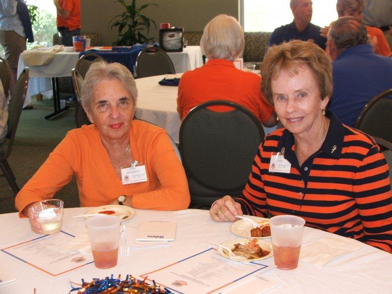 Members Joan and Judy