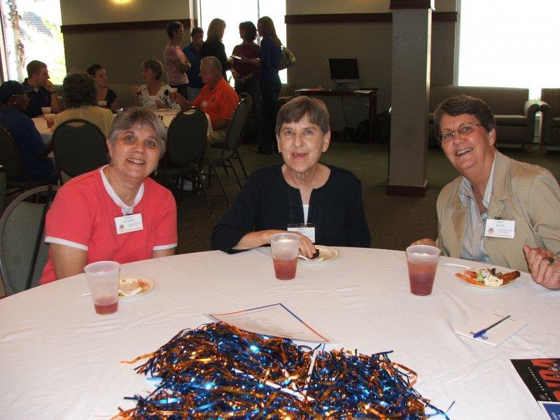 Members Susan, Irby and Nita
