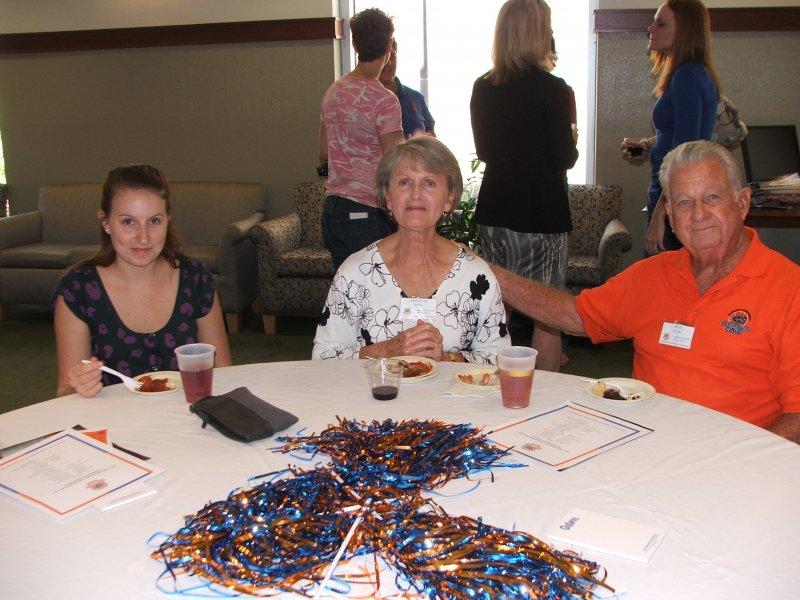 Members Rachel, Charlotte and Gene