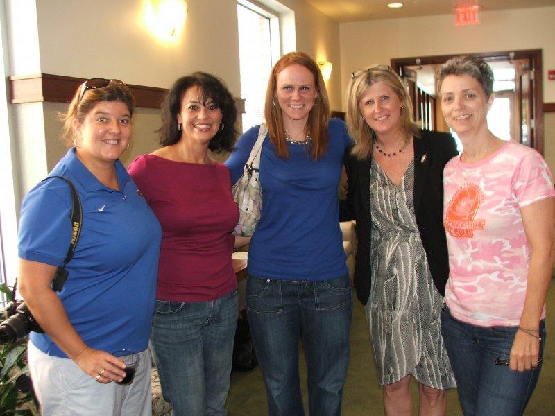 Kathy, Lani, Heather, Megan and Tina