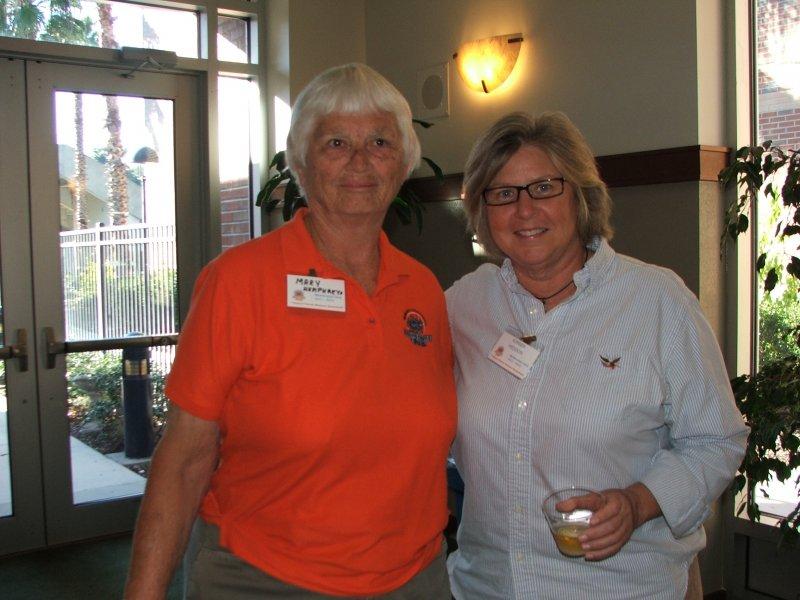 Members Mary and Kimber