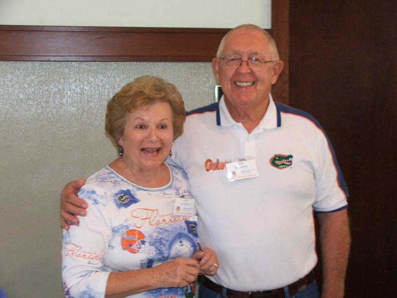 Members and volunteers Ron and June