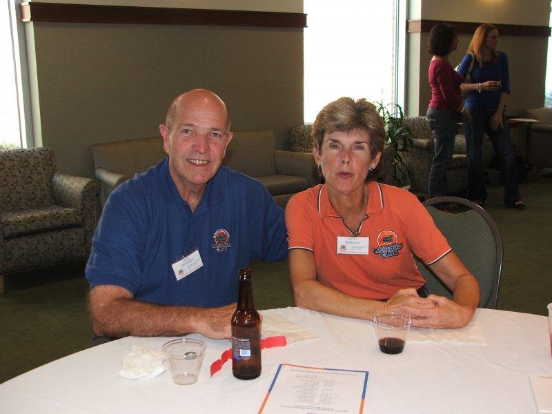 Members Dick and Kathy