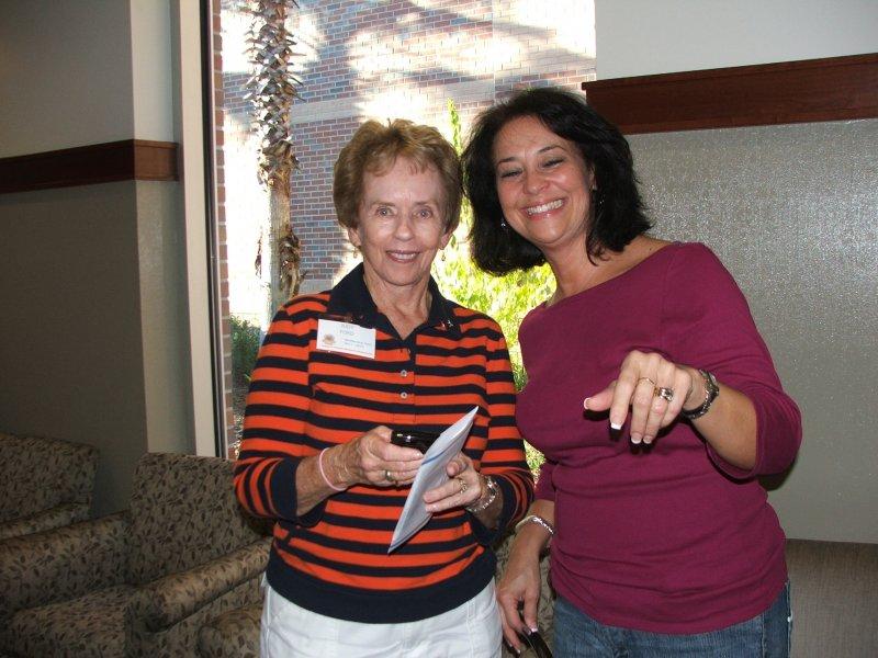 Member Judy and Lani