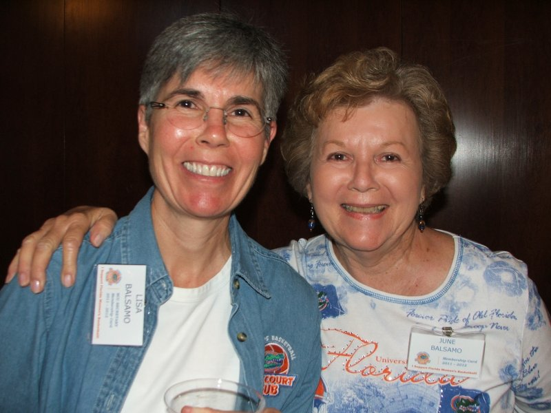Secretary Lisa and BCC member June (also Lisa\'s mother)