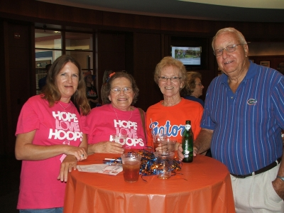 Members enjoying the Tip-Off event.