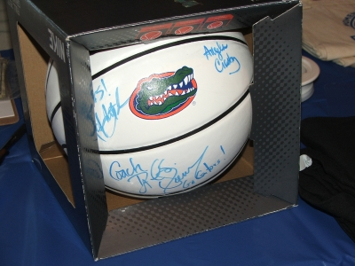 Signed by all coaches for member raffle - buy your ticket!!