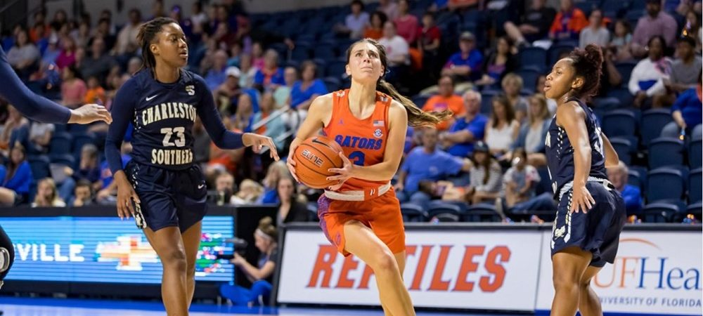 Gators Finish 2018 in Style with 70-60 Win Over Charleston Southern