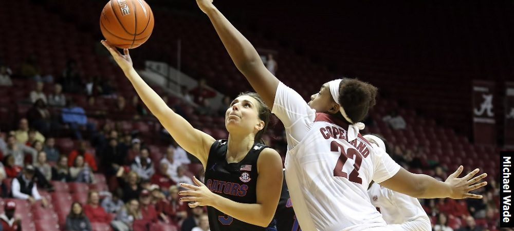 Florida Falls in SEC Opener, 74-67 at Alabama