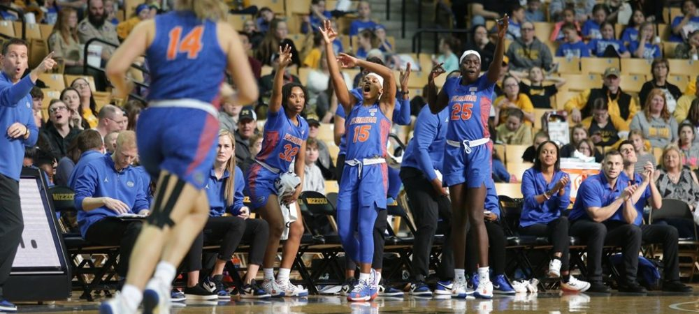 Gators Show Out in Show Me State