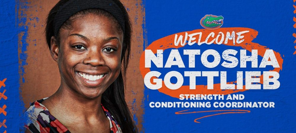 Gators Name Natosha Gottlieb Strength and Conditioning Coordinator